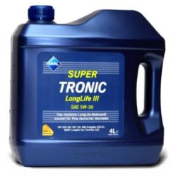 Масло моторное Aral Super Tronic Long Life 5W30 4л