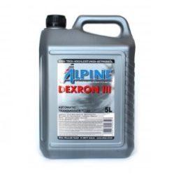 Масло трансмиссионное Alpine ATF Dexron III 5л