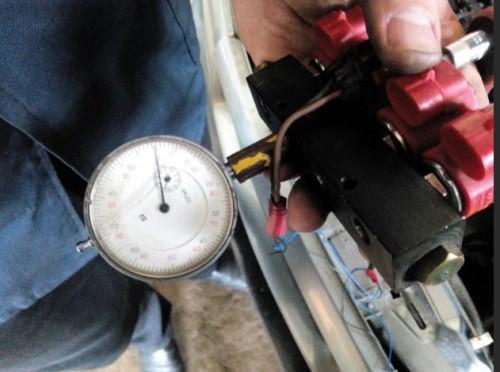 проверка газовых форсунок