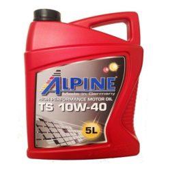 Масло моторное Alpine TS 10W40 5л